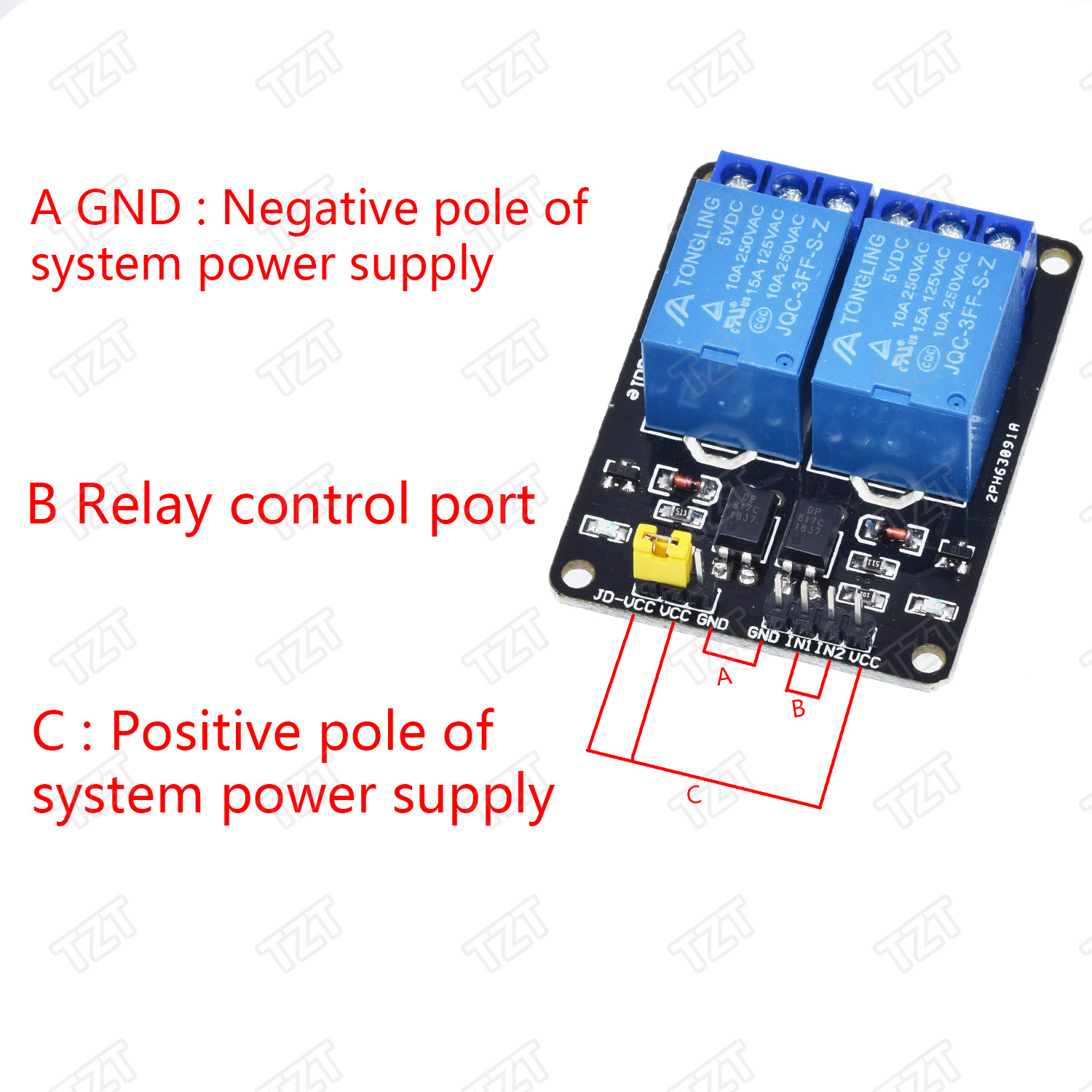 TZT 1pcs 5v 12v 1 2 4 6 8 channel relay module with optocoupler. Relay Output 1 2 4 6 8 way relay module for arduino In stock 7