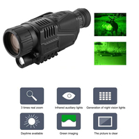 Night Vision Monocular Tactical Infrared Night Vision Telescope Military HD Digital Monocular Telescope Night Time Navigation