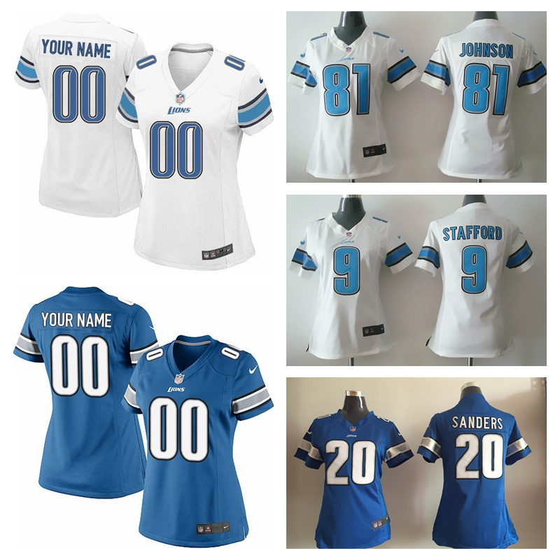Cheap NFL Jerseys - Stafford Lions Jersey Promotion-Shop for Promotional Stafford ...