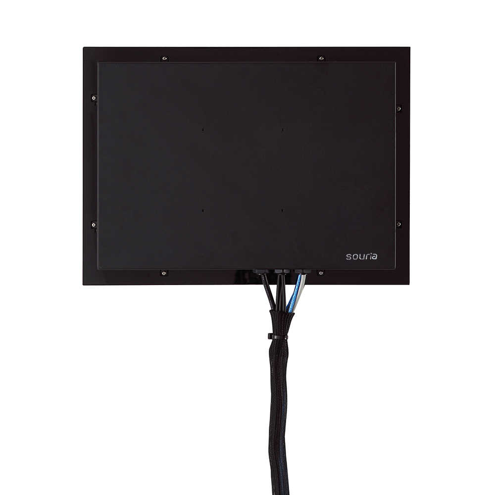 """Souria 27 """"LED TV IP66 مقاوم للماء الحائط شاشة مسطحة سبا صالون التلفزيون"""