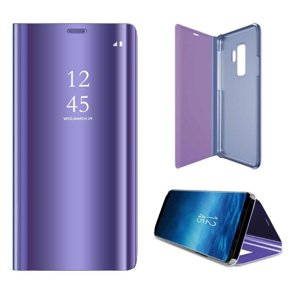 J4 2018 J6 2018 Gương Flip Case Dành Cho Samsung Galaxy Samsung Galaxy J3 J5 J7 Prime 2017 2016 J330 J530 J730 Funda bao Da Dành Cho Samsung J2 Pro 2018