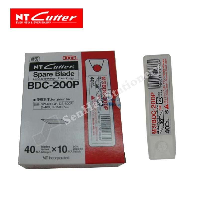 اليابان NT القاطع BDC 200P 30 درجة زاوية القلم سكين 400 قطعة/الوحدة-في مجموعة سكاكين من لوازم المكتب واللوازم المدرسية على  مجموعة 1