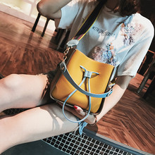 Newest fashion small bucket bag one shoulder cross-body 2018  womens handbag female cute