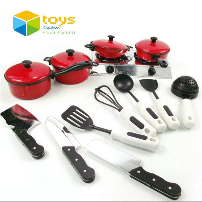 Kinder Kunststoff Geschirr Kochen Herd Spielzeug für Kinder Küche ...