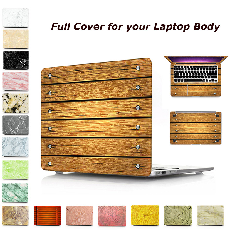 Laptop Case For Apple MacBook Air Pro Retina 11 12 13 15 for mac book New Pro 13 15 inch with Touch Bar Full Protective Cover