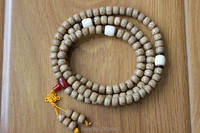 ML181 Ethnic Tibetan Buddhist 108 Mala Rosary Natural Original Lotus Bodhi Seeds 9mm 7mm 108 Prayer