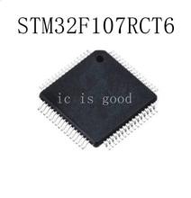 5PCS STM32F107RCT STM32F107RCT6 QFP-64