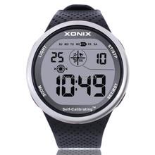 Mens Sports Watches Self Calibrating Digital Watch Waterproo