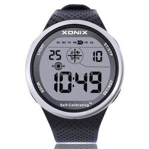 Image 1 - Mens Sports Watches Self Calibrating Digital Watch Waterproof 100m Multifunctional Swim Diver Outdoor Wristwatch