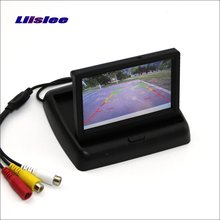 Liislee For Jeep Liberty Foldable Car HD TFT LCD Monitor Color Screen Display / 4.3 inch / NTSC PAL Color TV System