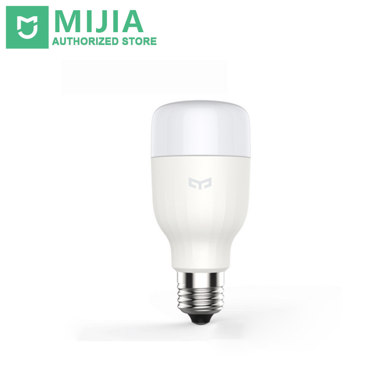 Xiaomi Yeelight Smart LED Bulb Wifi Remote Control Adjustable Brightness Eyecare Light Smart Bulb WHITE COLOR E27