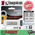 Кингстон usb 3.0 металл щепка DTLPG3 флэш-pen drive 135 МБ 8 ГБ 16 ГБ 32 ГБ 64 ГБ pendrive memoria мини ключ caneta памяти много