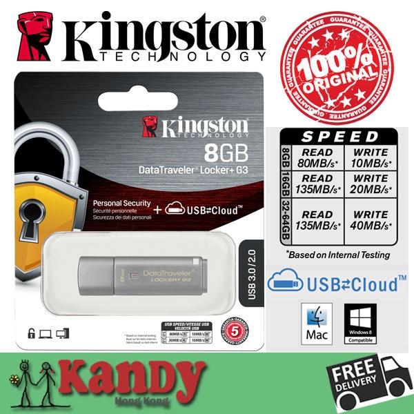 Kingston usb 3.0 Metal Sliver DTLPG3 flash pen drive 135MB 8gb 16gb 32gb 64gb pendrive memoria mini key caneta memory stick lot