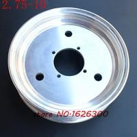Size 2.75 10 front Aluminium alloy wheel hub 10 inch wheels vacuum rims monkey bike motorcycle accessories modified