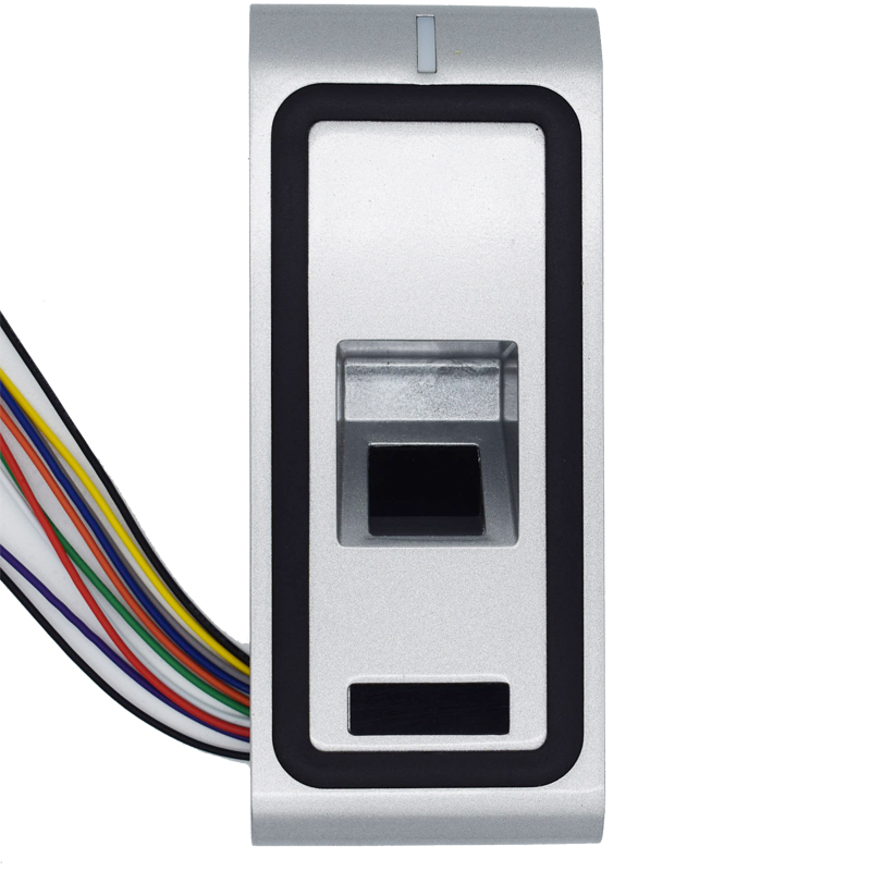 Full Metal DC 12V Wiegand Output 125Khz Rfid Fingerprint Access Control Remote Control Setting wiegand 26 input