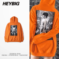 Anti Tour 2016 new Hip hop Hood HEYBIG orange Pullovers Icon Sexy Print Photo Streetwear China's Size!! plus Sizing