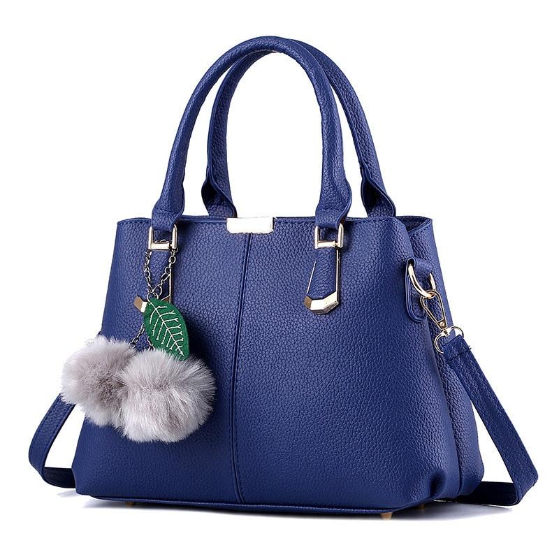 Women bag 2017 new bag women leather handbags female sweet lady fashion handbag Messenger bag shoulder bag