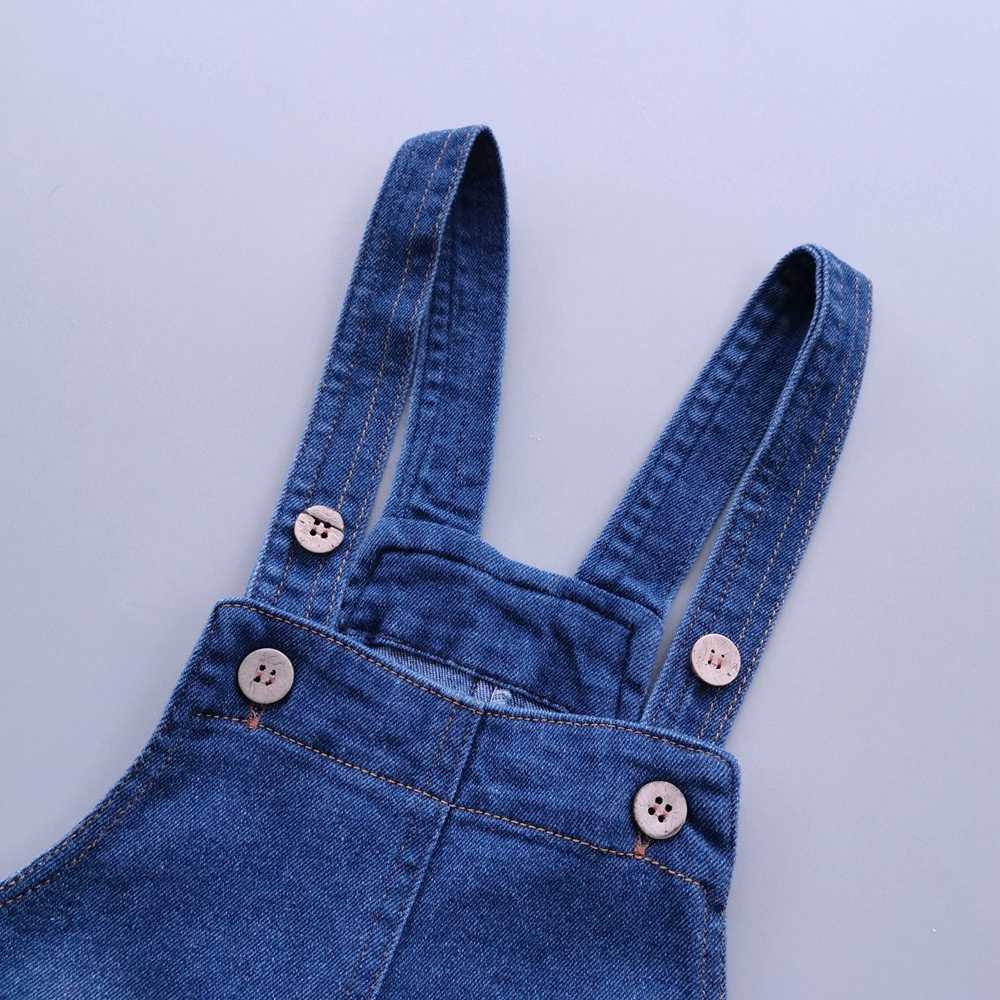 Chumhey 1-6T เด็ก Sundress ฤดูร้อนกางเกงยีนส์ Suspender ชุด Overalls สายรัดเด็กกางเกงยีนส์ชุดเสื้อผ้าเด็กวัยหัดเดิน bebe เสื้อผ้า