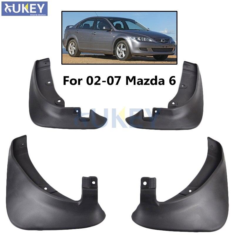 A-Premium Splash Guards Mud Flaps Mudflaps Replacement for Mazda 6 2003-2005 Sedan 4-PC Set