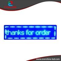 Comparar Cartel de desplazamiento LED digital de color azul P10 pantalla electrónica pantalla led 2 años de