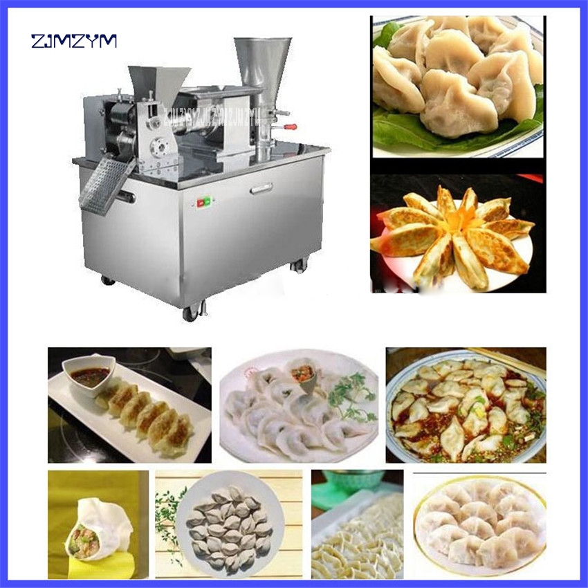 LY-80 Automatic Spring Roll Making Machine Dumplings Chinese Snacks Machine,220V/50hz Stainless Steel Material 4800/H Production 2