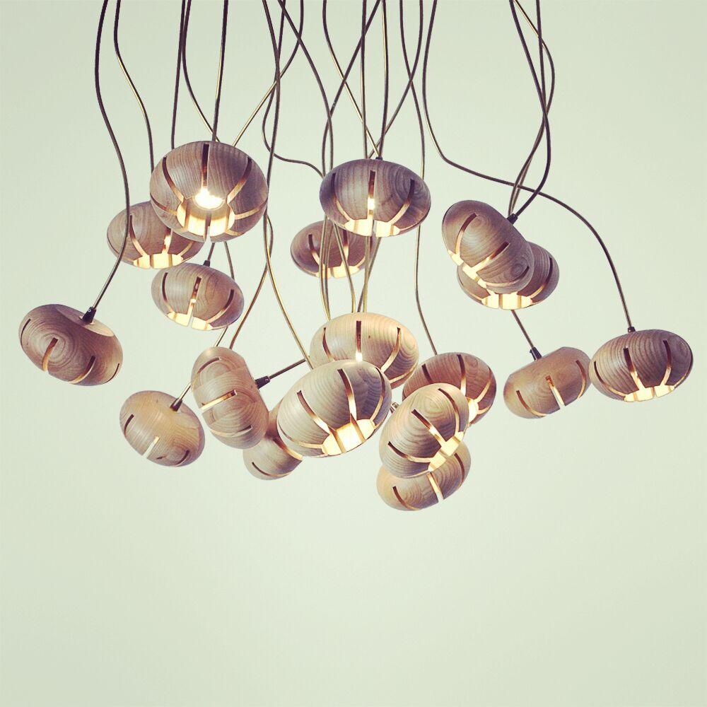 Современный творческий лампы Droplight столовая дерево Книги по искусству люстры