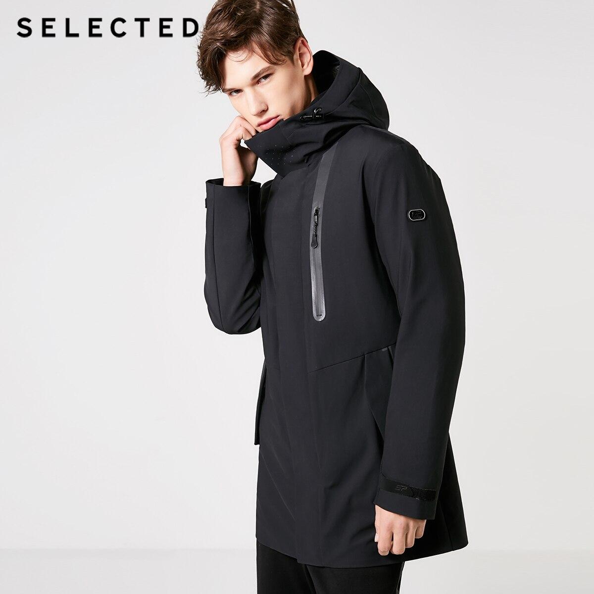 Mu Yuan Yang Thicken Long Mens Woolen Coat 50 Off Men s Wool Jacket Winter Casual