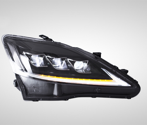 Full LED Front Lamps Headlights Assembly For LEXUS IS250 220D 350 ISF 2006 2012