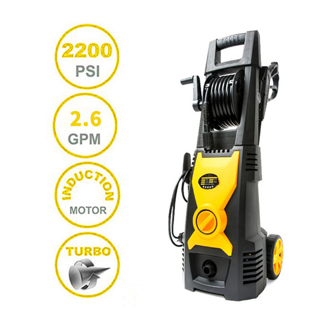POHIR 2320 PSI 2.6 GPM Pressure Washer Garden Cleaning Machine Car Wash High Pressure Cleaner Car with EMA Induction Motor