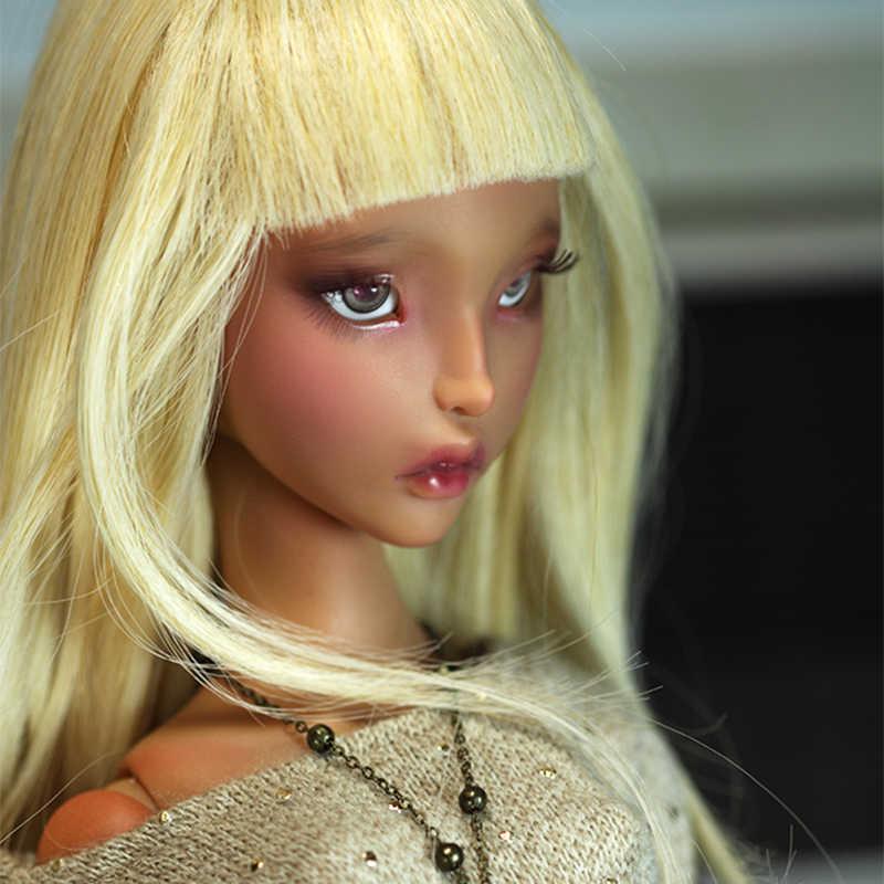 Nova Chegada Bonecas BJD Lillycat Ellana Radicelle Figuras de Resina 1/3 Nu Oueneifs Brinquedo de Presente Para O Natal Ou de Aniversário