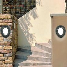 Стены бра открытый водонепроницаемый холодный белый из светодиодов бра света водонепроницаемый бра терраса бар AC85-265V освещения
