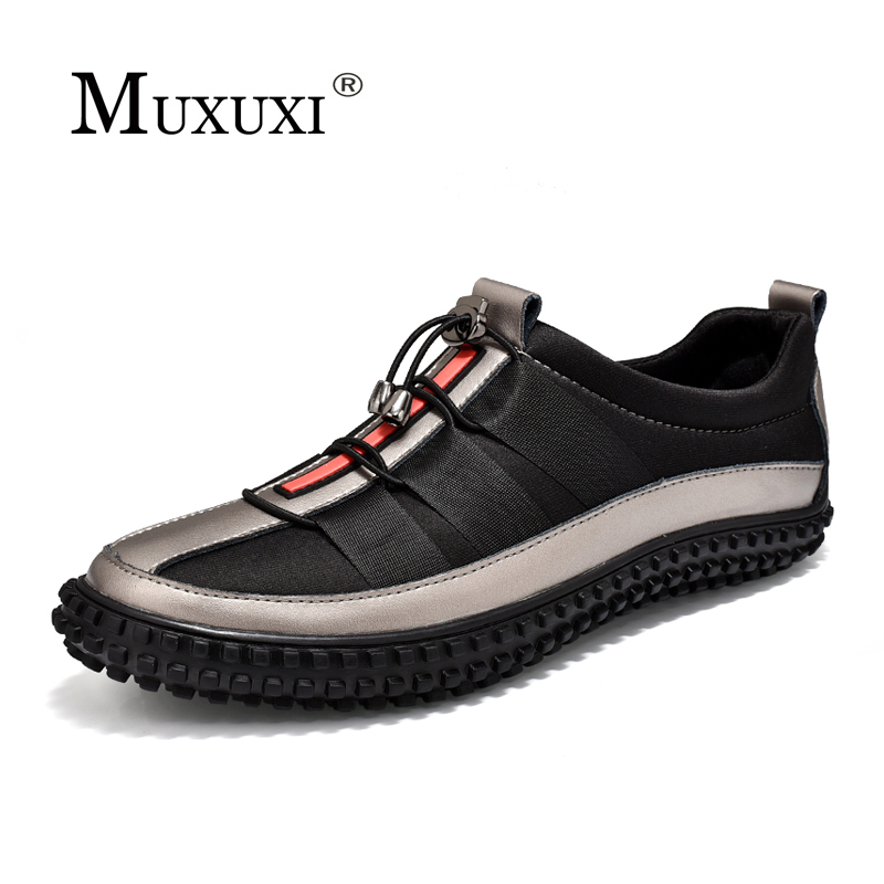 2018 Spring fashion Brand Leather men's Casual shoes outdoor Oxford Breathable Male Footwear men sneakers Shoes Zapat 2017 new spring imported leather men s shoes white eather shoes breathable sneaker fashion men casual shoes