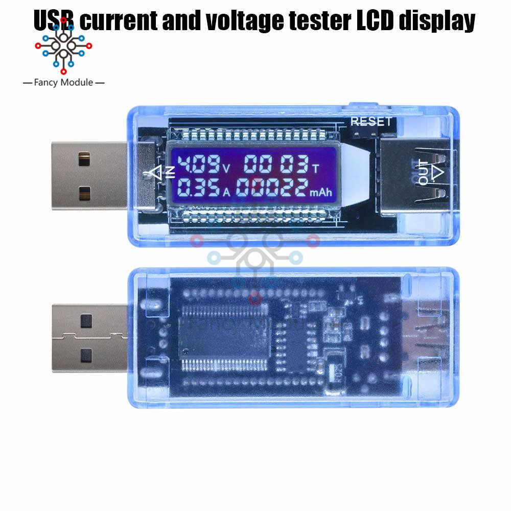 Diymore USB Charger Medico Tester di Tensione di Corrente di Lavoro Tempo di Alimentazione Capacità Della Batteria Tester Strumenti di Misura