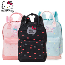Kawaii Cartoon Pink Hello Kitty Backpacks Cute My Melody Backpacks Girls Small Bags Children Schoolbag Kids Gifts Good Quality sheepet sp120452 my melody hello kitty