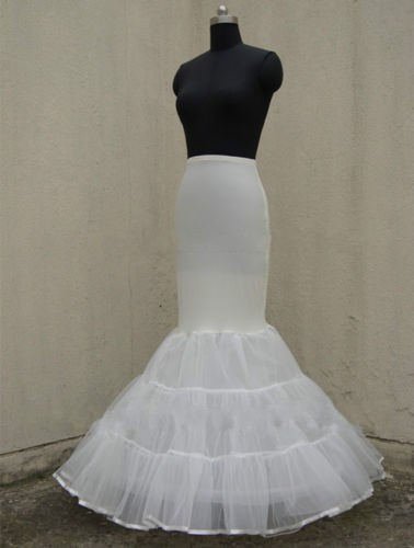 Lycra Tulle White Black Mermaid Trumpet Style Wedding Gown Petticoat Crinoline Slip Us2 Us18 In Petticoats From Weddings Events On Aliexpress