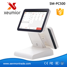 """Free Software SDK 12""""dual screen touch screen pos system Android Tablet PC Cash Register machines support Wifi,bluetooth,camera(China (Mainland))"""