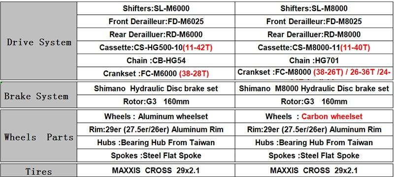 "HTB1kd40adfvK1RjSspfq6zzXFXaL - CATAZER Carbon Mountain Bike 17""/19""21"" Carbon Fiber Frame Bicycle 26er Wheel 20 Speeds Profession MTB Bicycle Disc Brake Bike"