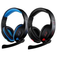 HL USB 7.1 Surround Stereo Gaming Headset Auricular de La Venda con el Mic para PC de AGOSTO 23 E22