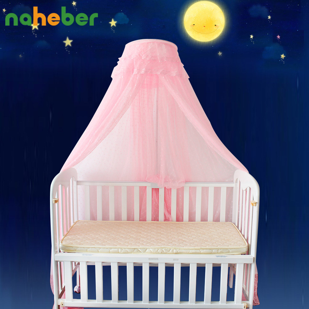 Baby cribs in ghana - Portable Baby Crib Mosquito Nets Infant Cot Insect Netting Newborn Bed Folding Canopy Boys Girls Summer