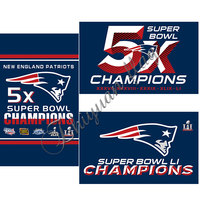 2016 SUPER BOWL CHAMPIONS flag 3x5ft New England Patriots Flag with metal rings custom banner