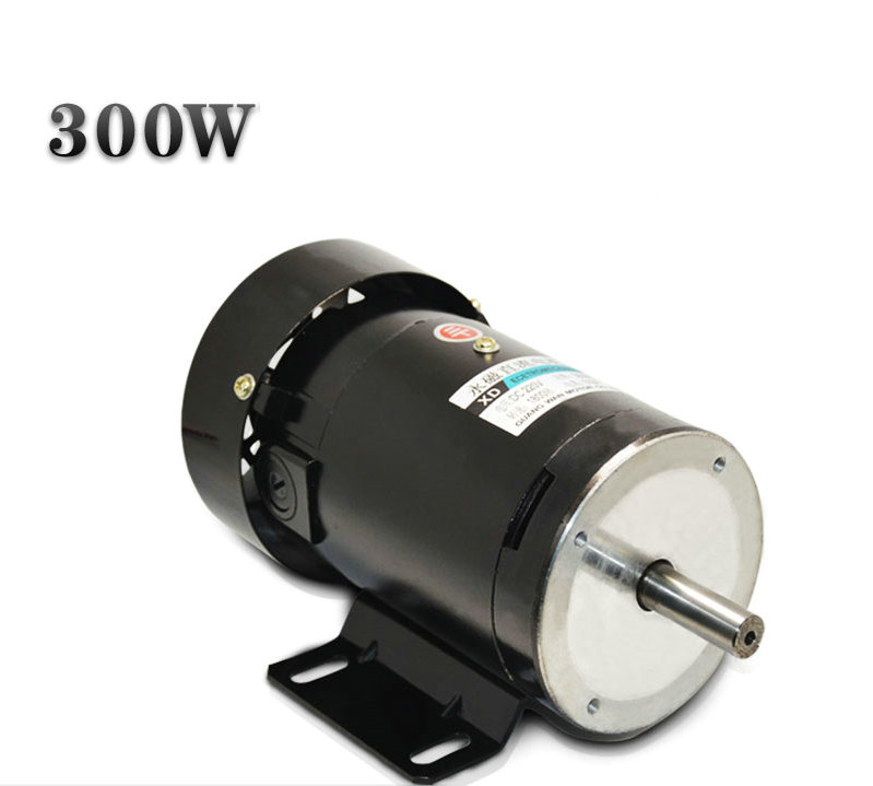 DC220V 300W XD-ZYT21 DC permanent magnet motors reversing speed 1800rpm Power Equipment DIY Accessories dc220v 200w 1800rpm high speed permanent magnet motor reversing variable speed mechanical equipment powered diy accessories