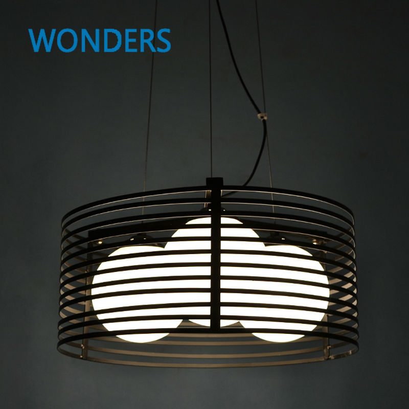 Nordic Style Hollow-out Vintage Pendant Lamp Retro Industrial iron and glass Light Round Bar Dining Room Lamp Loft Light E27 ems free shipping sea blue pendant light fashion iron glass lamp cover nordic style pendant lamp
