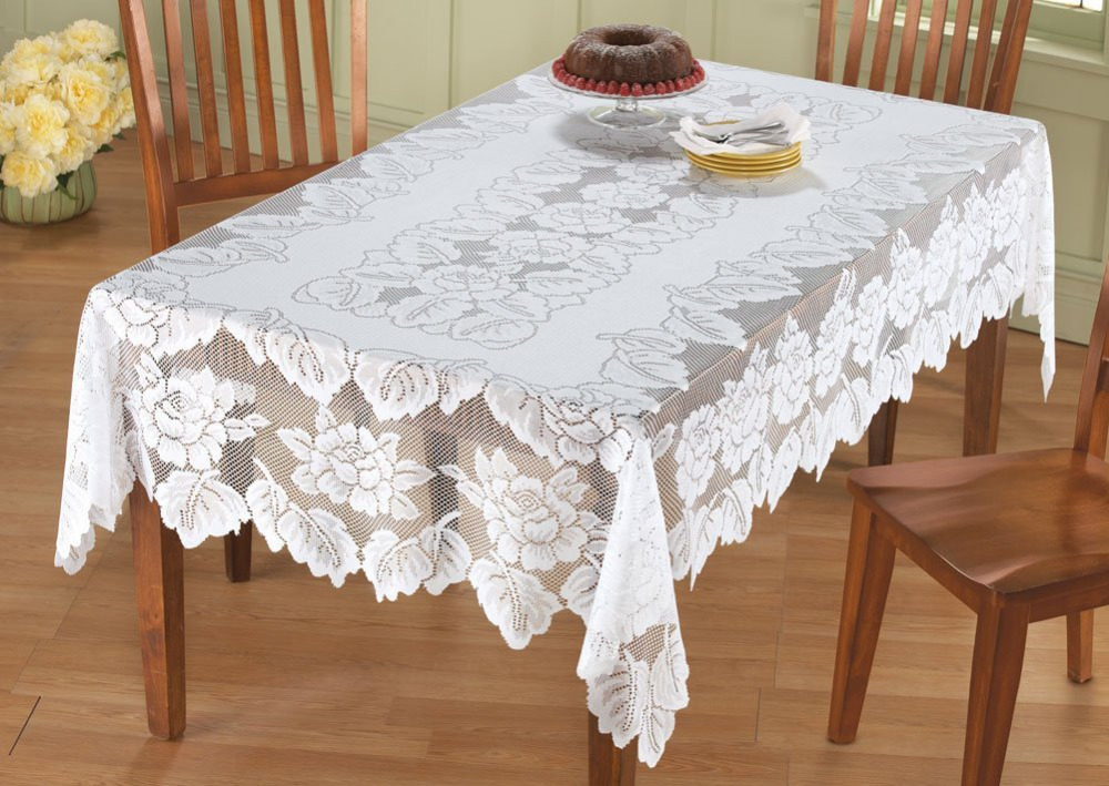 1pcs/set New Arrival Table Cloth White Hollow Lace Tablecloth Decorative Elegant  Table Cloth Table Cover  In Tablecloths From Home U0026 Garden On ...