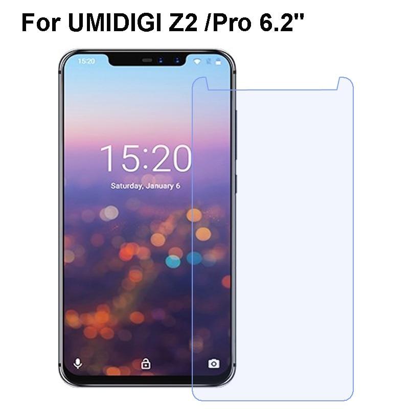 UMIDIGI Z2 Telephone Glass 9H High Quality Transparent Protective Film Explosion-proof Screen Protector For UMIDIGI Z2 Pro