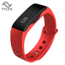 TTLIFE Brand Call Message Reminder Fashion Casual Digital Bracelet Alarm LED Relogio Feminino Wristwatches Men Women Smart Watch