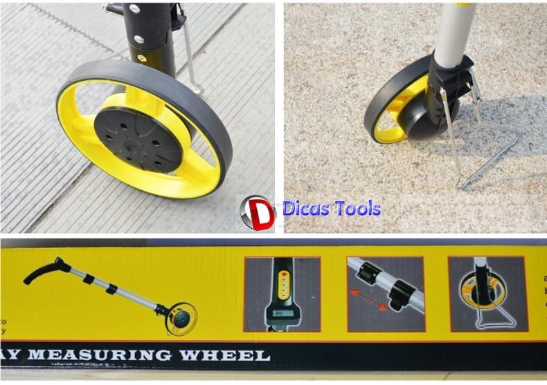 Entfernungsmesser Mit Rad : Digitalanzeige mechanische rad entfernungsmesser push