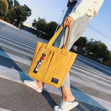 New 2019 Womens Shopping Bag Reusable Cotton Linen Eco Cloth for Special Purpose Handbags Pouch Tote