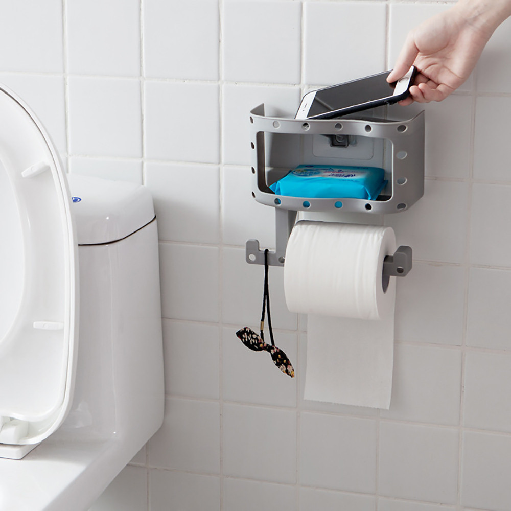 Bathroom Wall Mounted toilettes Roll Holder