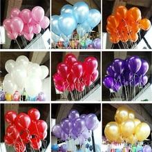 10 шт./лот 10 дюймов 1,5 г вечерние шары латексные шары для дня рождения, украшения для свадебной вечеринки