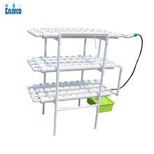 NFT Гидропоника системы с чистая чашка шт. 108. Домашняя система гидропоники. Питательная пленка (NFT) Бесплатная доставка